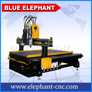 China Multi Heads 4 Axis CNC Router 1325 with 8X4 CNC Router Machine From Top Company pictures & photos
