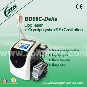 Bd06c Portable Cryolipolysis Slimming Laser Lipolysis Candle Shape Vacuum RF Roller pictures & photos