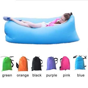 Factory Custom Logo Inflatable Water Sofa Beach Sofa Lamzac Hangout pictures & photos