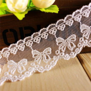 High Quality Low Price Mesh Embroidery Lace for Girl Garment pictures & photos