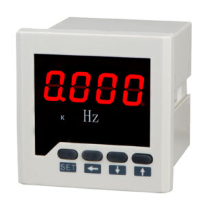 Single Phase LED Display Digital Electrical Frequency Meter pictures & photos