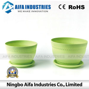 Plastic Injection Molding for Flower Pots pictures & photos