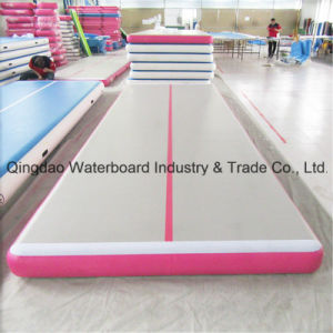 Pink Colour Fashion Inflatable Mat Tumble Track