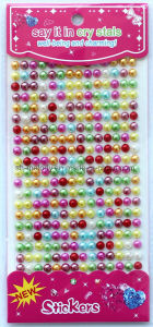 Multicolor Pearl Gem Borders/Rhinestone Sticker/Pearl Borders pictures & photos