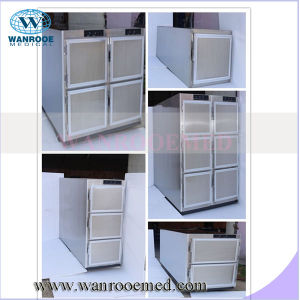 Ga306 New Type Body Cooler Stainless Steel Mortuary Refrigerator pictures & photos