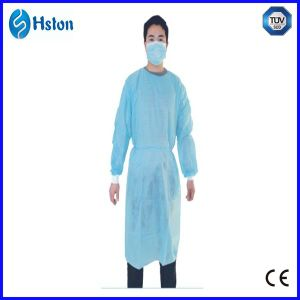 Blue PP Man Surgical Gown pictures & photos