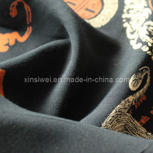 100% Rayon Fabric with Printed (SL15004) pictures & photos