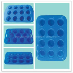 Safety Customized Silicon Rubber Cake Make Mold pictures & photos