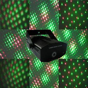 Red and Green Mini Laser Light Star Show