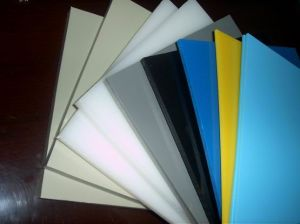 White, Grey Color PP Sheet, Polypropylene Sheet for Industrial Seal pictures & photos
