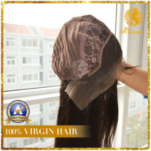100% Virgin Human Hair Frontal Lace Wig (W-3) pictures & photos