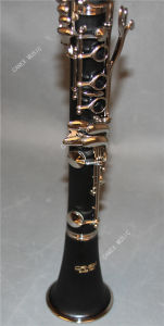 Bb Soprano Clarinet/ Bb Key Clarinet/ Woodwind Instrument pictures & photos