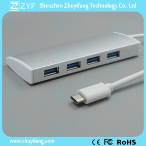 Harmonica Design Type C 4 Port USB 3.0 Hub (ZYF4001) pictures & photos
