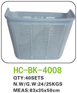 Plastic Bicycle Basket for All Kinds of Bicycle (BK-4008) pictures & photos