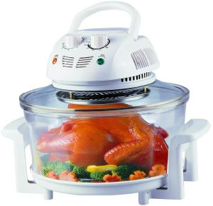 12L Halogen Oven/ Convection Oven with Glass Bowl