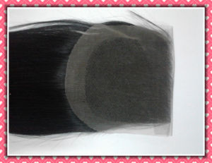 """Brazilian Lace Closure Free Style Silky 16"""" Natural Color pictures & photos"""