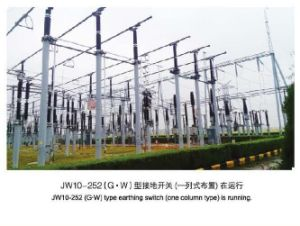 Jw10 Series Outdoor Hv AC Earthing Switch pictures & photos