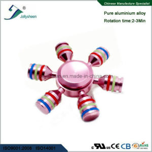 Entertainment Six Arms of Hand Spinner Toys Compliant for Ce, RoHS, En71 pictures & photos