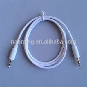 "1/8"" 3.5mm Mono Jack Patch Cable for Modular Synthesizer pictures & photos"