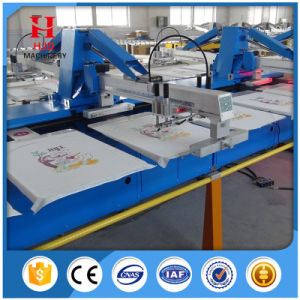 Oval Automatic Screen Printing Machine pictures & photos