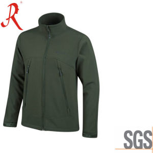 Bestselling Windproof and Waterproof Softshell Jacket (QF-4116) pictures & photos