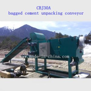 Cbj30A Bagged Cement Unpacking Conveyor (with WG5 Pneumatic Cement Feeder) pictures & photos