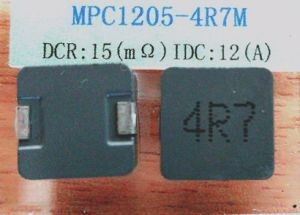 Molding Power Inductor, 4.7uh, Temperature Rise Current: 12A, Size: 13.0*12.0*5.0mm, DC/DC Converters pictures & photos