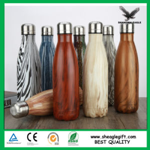500ml 1000ml Painted Coco vacuum Flask Bottle pictures & photos
