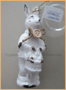 Wholesale Rabbit Shaped Glass Craft pictures & photos