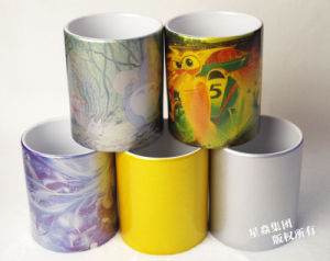 Sublimation Ceramic Cup 11oz Pearl Coating Mugs pictures & photos