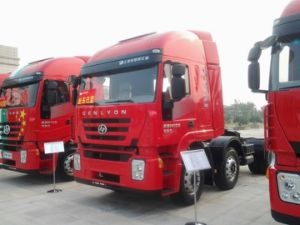 China Famous Brand Iveco C100 380HP Tractor Truck for Hot Sale pictures & photos
