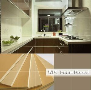 High Quality PVC WPC Kitchen Cabinet Furniture Board Panels pictures & photos