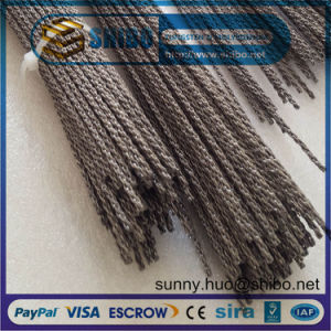 0.76mm Twisted Tungsten Wire, Tungsten Filament Rope in Making Coiled and Filaments pictures & photos