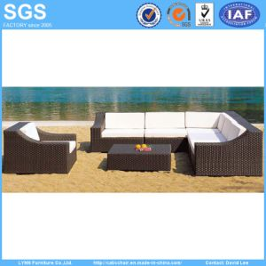 Hotel Outdoor Furniture Rattan Sofa Set Ln-002 pictures & photos
