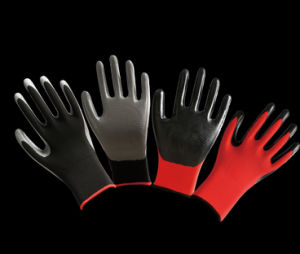 Industrial Safety Nitrile Coated Working Glove with En388 En420 pictures & photos