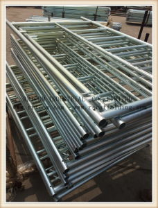 Steel Galvanized Ladder Mason Scaffolding Frame pictures & photos