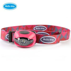 Camouflage Color LED Headlamps with White Lighting for Distance and Red Light for Night Vision