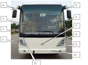 Chang an Bus Sc6881 Front Wall, Bus Spare Parts, Auto Parts, Bus Spare Parts. pictures & photos