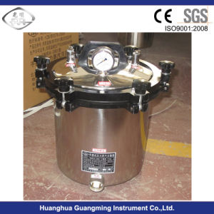 stainless Steel Portable Autoclave with 18/24 L Capacity pictures & photos