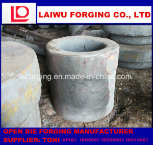 Black Forgings Roughcast Open Die Forging pictures & photos