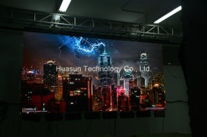 P6 P7mm High Quality Flex LED Curtain Soft LED Screen by Huasun pictures & photos