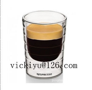 Double Wall Glass Cup Coffee Glass Cup 85ml pictures & photos
