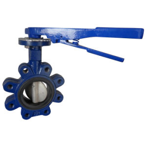 Lug Type Butterfly Valve Rubber Lined with Pin pictures & photos
