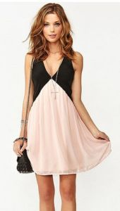 Hot Sale Women Chiffon Dress Sleeveless Party Sexy Chiffon Ladies Dress pictures & photos