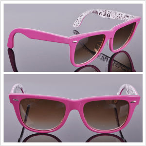 Women′s Sunglasses/New Arrival Sun Glass/ Acetate Frame pictures & photos