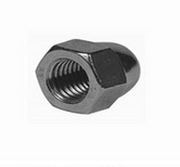 China Hex Flange Cap Nut Manufacturer High Quality pictures & photos