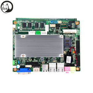 Fanless ATM Terminal Motherboard with D2550 Processor and 2GB RAM pictures & photos