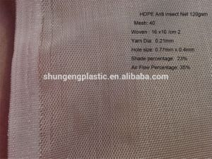 100% Virgin HDPE Anti Insetti 16X10 with UV Resistance Net pictures & photos
