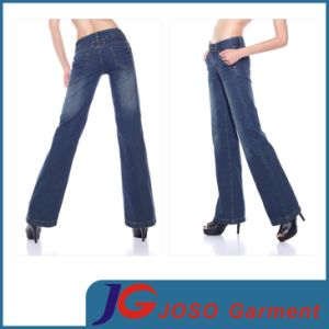 Womens Bootcut Jeans Flared Bell Leg Curvy Jean (JC1293) pictures & photos