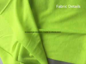 Factory OEM Produce Cheap Green Dyed with Reflective Stripes Multi Neck Tubular Scarf pictures & photos